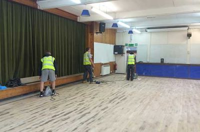 Floor Restorations | Maid Marions